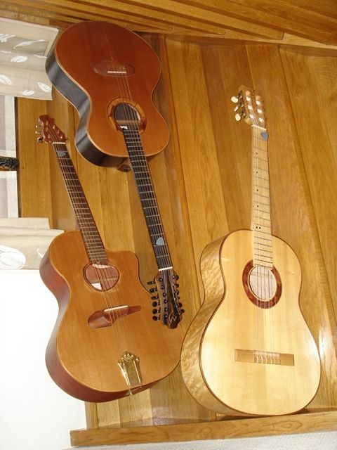 Une jolie photo de mes guitares